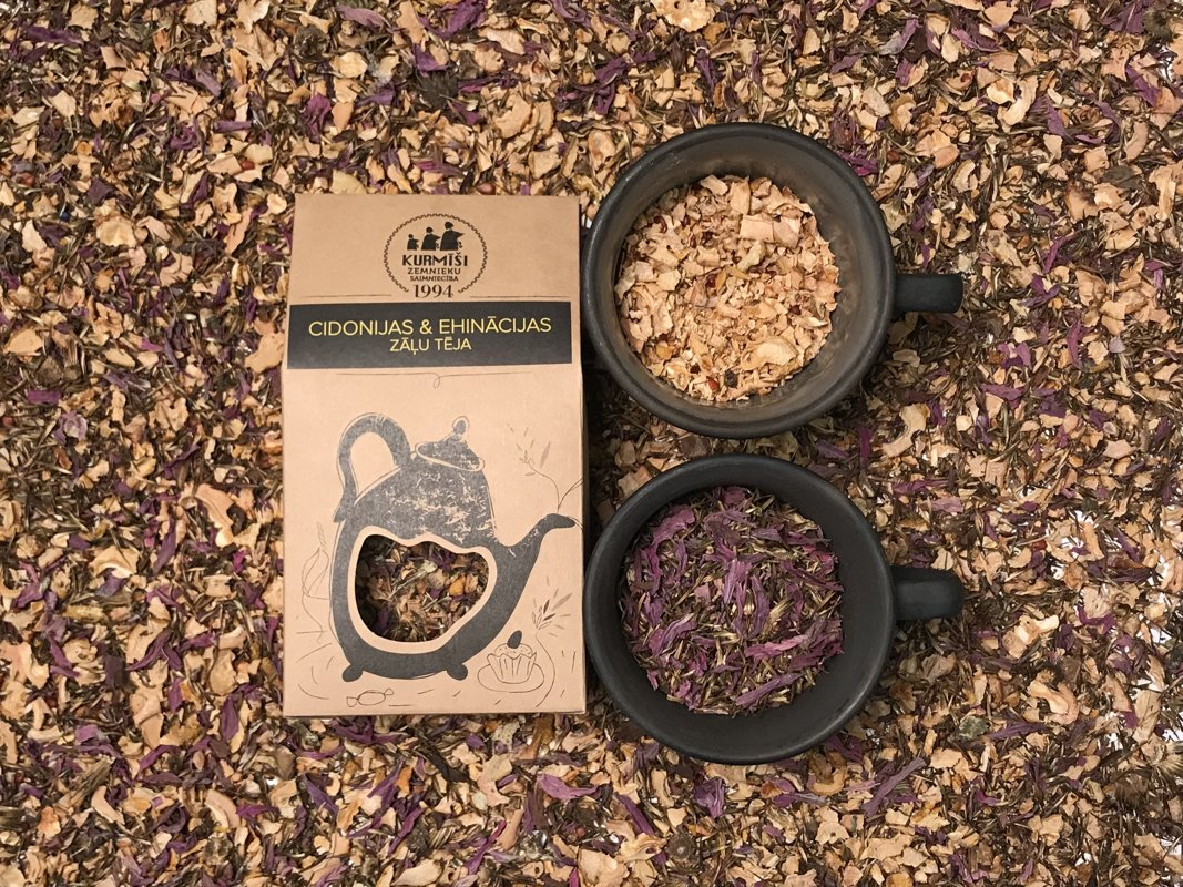 Quince & Ehinacea herbal tea, organic