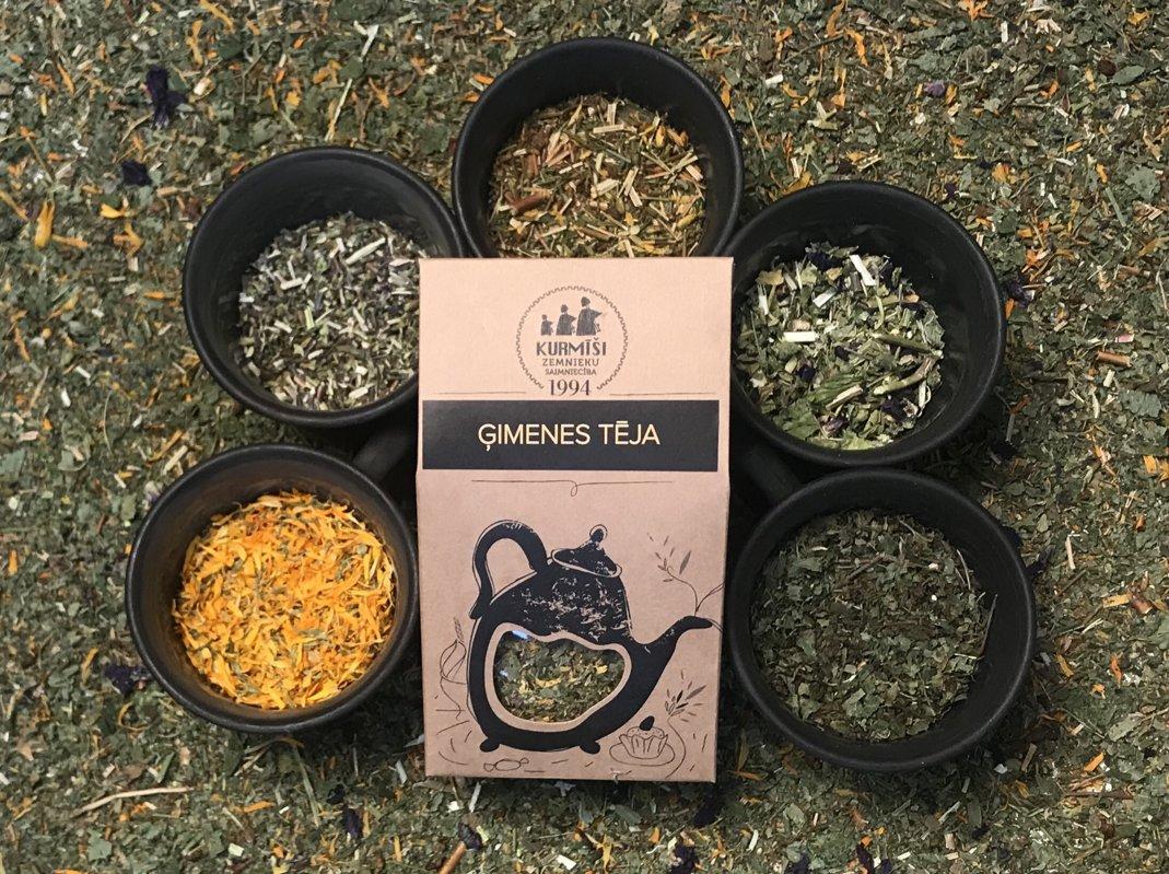 Herbal tea for family, organic