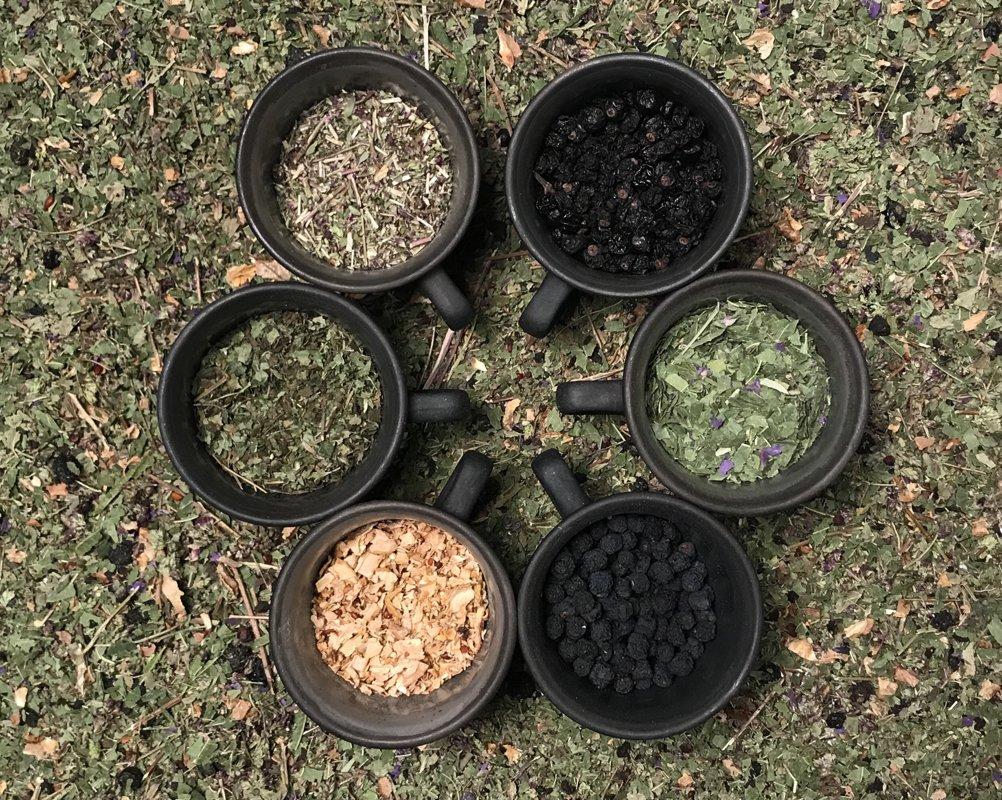 Zāļu tēja Uguns, bioloģiska.