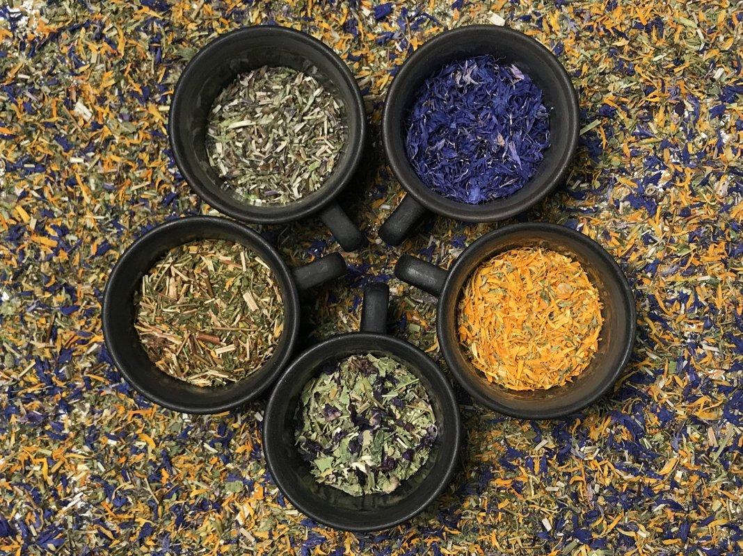 Zāļu tēja Latgales ziedu, bioloģiska.