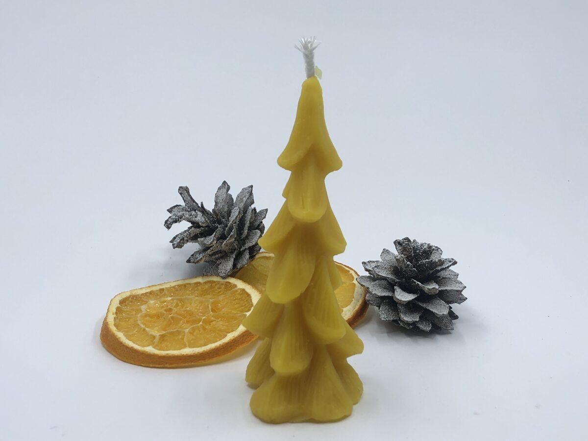 Bišu vaska lietā svece (4)
