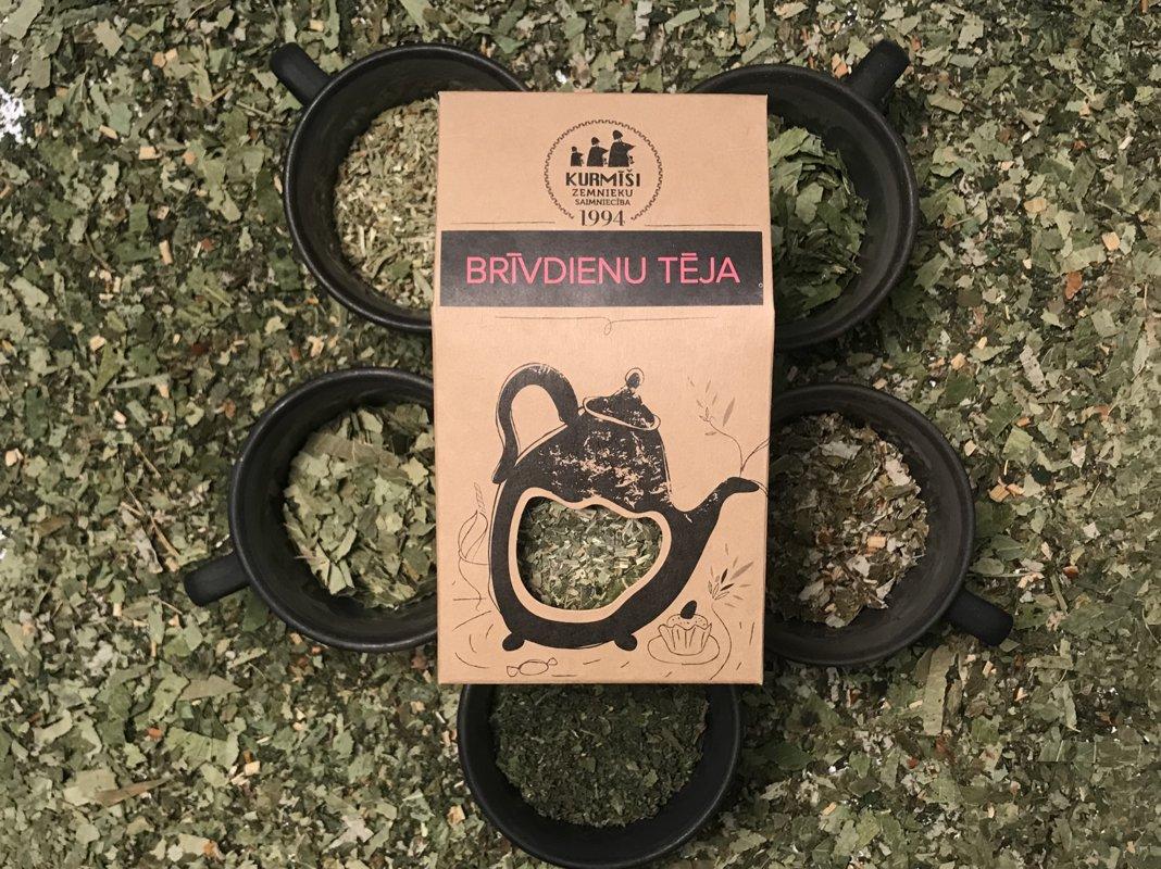 Zāļu tēja Brīvdienu, bioloģiska