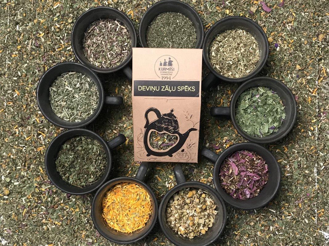 Zāļu tēja Deviņu zāļu spēks