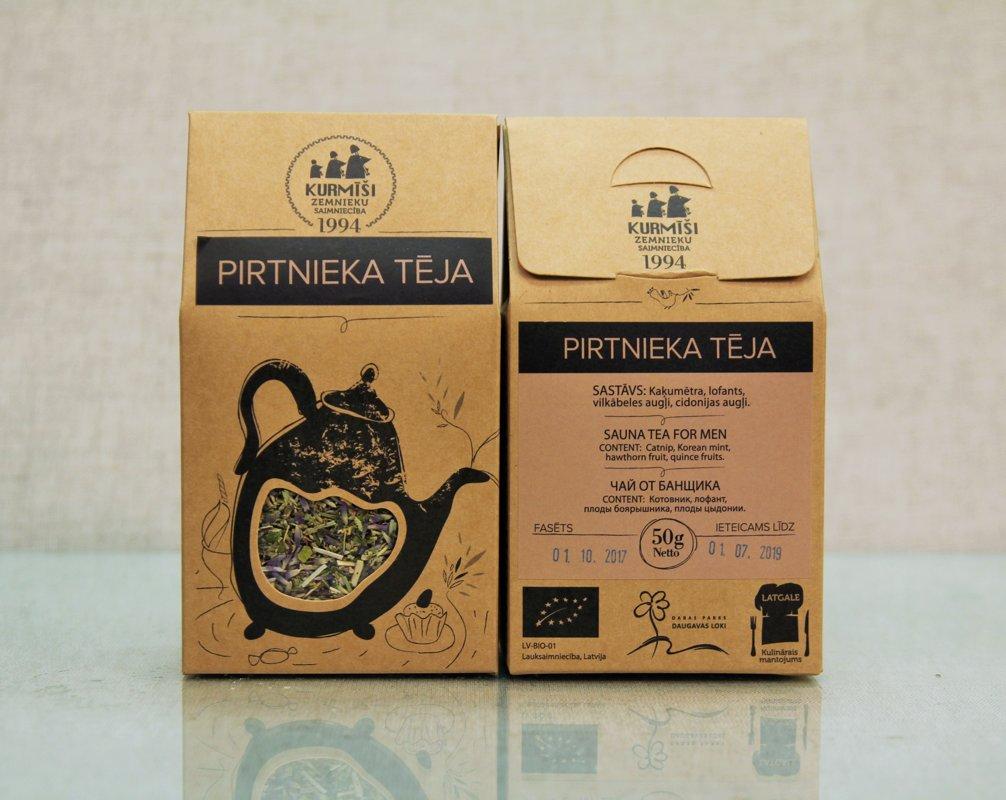 Zāļu tēja Pirtnieka, bioloģiska