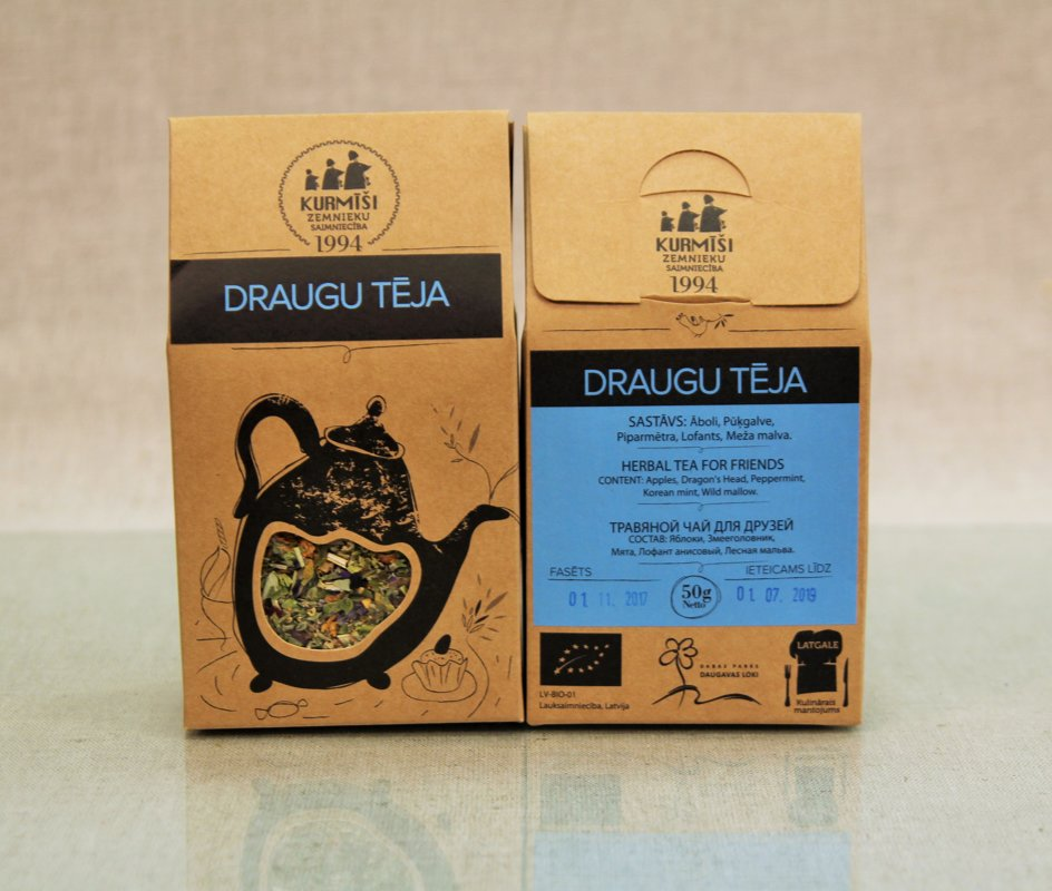 Herbal tea for friends, organic