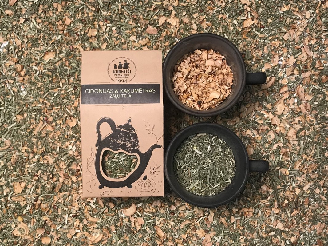 Quince & Catnip herbal tea, organic