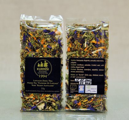 "Herbal tea ""Flowers of Latgale"", organic"