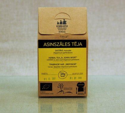 Зверобойный чай