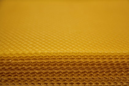 Beeswax comb foundation sheets (6 kg)