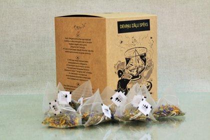 Травяной чай Сила девяти трав (100 пакетиков)