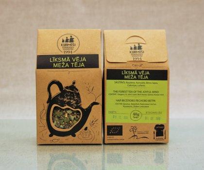 Травяной чай Веселого лесного ветра, биологический