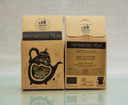 Sauna tea for women, organic